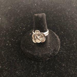 Vintage Silpada Rose Ring.